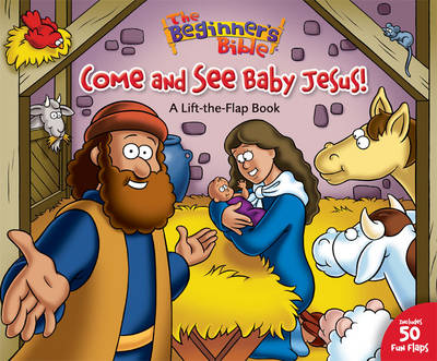 Come and See Baby Jesus 50 Fun Lift-the Flaps by Catherine DeVries