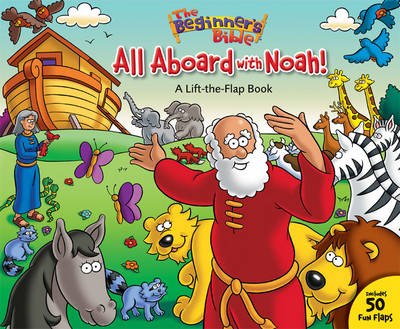 All Aboard with Noah! A Lift-the-flap Book by Catherine DeVries
