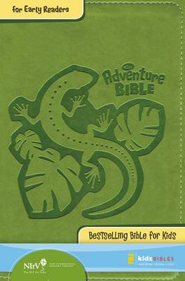 NIrV Adventure Bible for Early Readers Italian Duo-Tone Jungle Green by Mr Lawrence O Richards