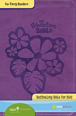 NIrV Adventure Bible for Early Readers Italian Duo-Tone Tropical Purple by Zondervan Bibles