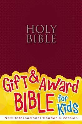 NIrV Gift & Award Bible Burgundy by Zondervan Publishing