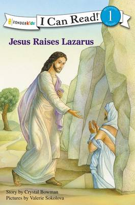 Jesus Raises Lazarus by Crystal Bowman