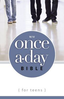 NIV Once-a-Day Bible for Teens by Zonderkidz