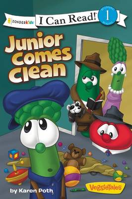 Junior Comes Clean / Veggietales / I Can Read! by Karen Poth