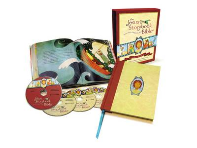 The Jesus Storybook Bible With Audio CDs and DVDs by Sally Lloyd-Jones