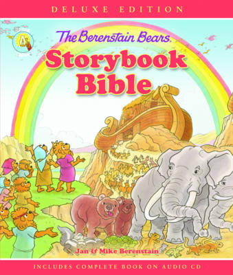 Berenstain Bears Storybook Bible With CDs by Jan Berenstain, Mike Berenstain