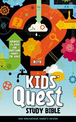 NIrV Kids' Quest Study Bible Answers to Over 500 Questions About the Bible by Zondervan