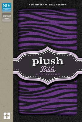 NIV, Plush Bible Collection, Hardcover, Purple/Black by Zondervan Publishing