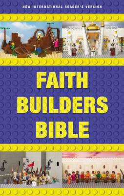 NIrV, Faith Builders Bible, Hardcover by