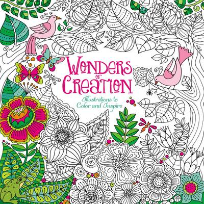 Wonders of Creation Coloring Book Illustrations to Color and Inspire by Zondervan