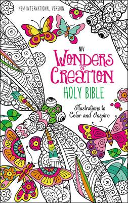 NIV Wonders of Creation Holy Bible Illustrations to Color and Inspire by Zondervan