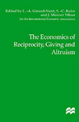 The Economics of Reciprocity, Giving and Altruism by Na Na