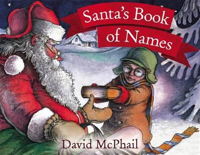 Santa's Book of Names by David McPhail