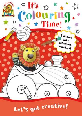 Driver Dan's Story Train: It's Colouring Time! by Rebecca Elgar