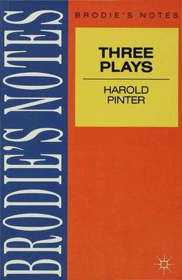 Pinter: Three Plays Birthday Party , Caretaker and Homecoming by John P. Jenkins