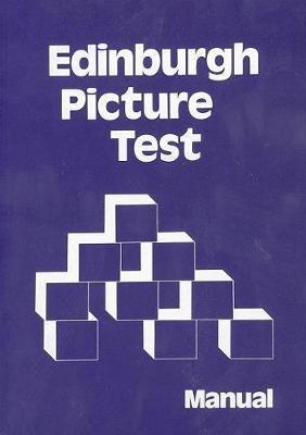 Edinburgh Picture Test Specimen Set by Educational Assessment Unit University of Edinburgh