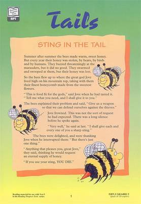 Reading Progress Test 5, Broadsheet 'Tails Pk10 by Denis Vincent, Mary Crumpler