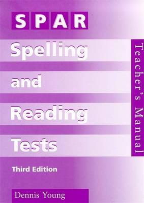 SPAR Spelling & Reading Tests Specimen Set by Dennis Young