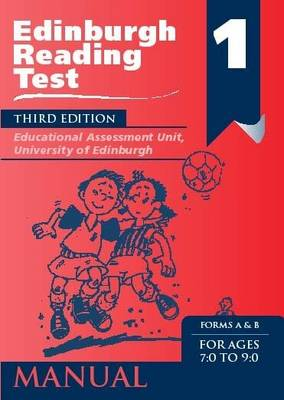 Edinburgh Reading Test (ERT) 1 Specimen Set A Series of Diagnostic Teaching AIDS by Educational Assessment Unit University of Edinburgh