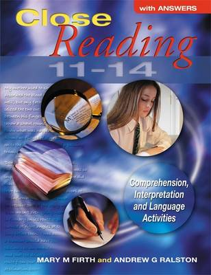 Close Reading 11-14 with Answers by Mary M. Firth, Andrew G. Ralston