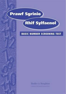 Prawf Sgrinio Rhif Sylfaenol (Basic Number Screening Test-Welsh Edition) Specimen Set Specimen Set by K.A. Hesse, Bill Gillham