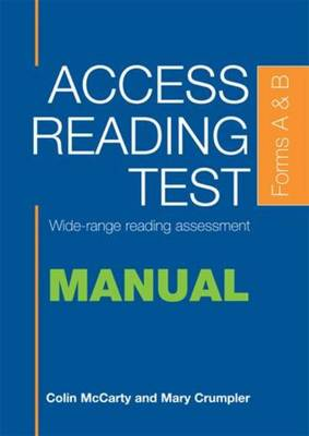 Access Reading Test Specimen Set by Colin McCarty, Mary Crumpler