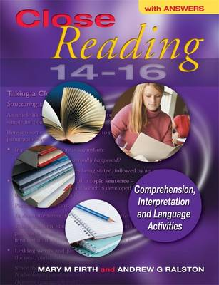 Close Reading 14-16 with Answers by Mary M. Firth, Andrew G. Ralston