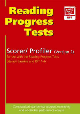 Reading Progress Tests: Scorer/Profiler CD-ROM (Version 2): for Use with the RPT Literacy Baseline and RPT Tests 1-6 Scorer/Profiler: For Use with the RPT Literacy Baseline and RPT Tests 1-6 by