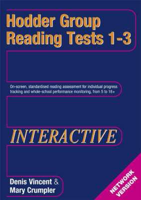 Hodder Group Reading Tests Interactive (HGRTi) 1-3 Network CD-ROM by Jeremy Swift, Colin McCarty