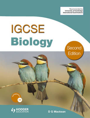 Cambridge IGCSE Biology by D. G. Mackean