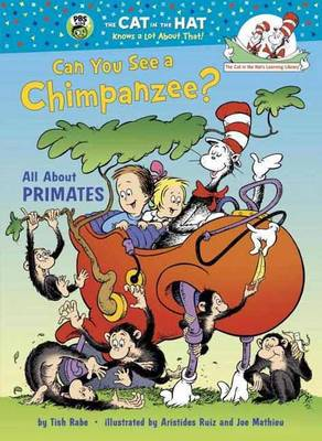 Can You See a Chimpanzee? All About Primates by Tish Rabe