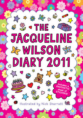 The Jacqueline Wilson Diary 2011 by Jacqueline Wilson