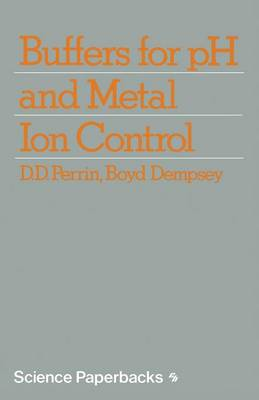 Buffers for pH and Metal Ion Control by D. Perrin
