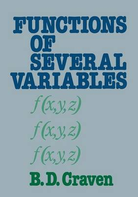 Functions of several variables by B. D. Craven