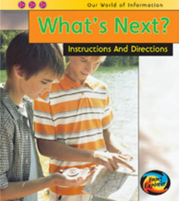 What's Next?: Instructions and Directions by Claire Throp