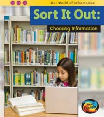 Sort it Out: Choosing Information by Claire Throp