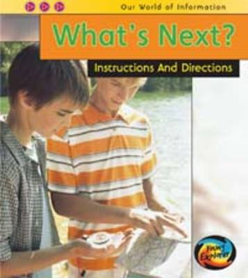 What's Next? Instructions and Directions by Claire Throp