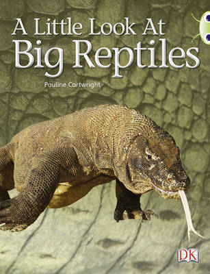 A Little Look at Big Reptiles NF (Blue B) by Pauline Cartwright