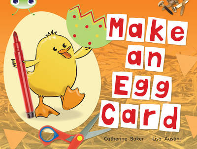 Make an Egg Card (Red C) by Catherine Baker