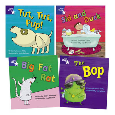 Star Phonics Pack 2 (4 Fiction Books) by Emma Lynch, Jeanne Willis, Nicola Sandford