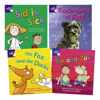 Learn at Home:Star Phonics Pack 3 (3 Fiction and 1 Non-fiction Book) by Emma Lynch, Jill Atkins, Nicola Sandford
