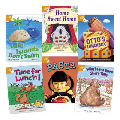Learn at Home:Star Reading Orange Level Pack (5 Fiction and 1 Non-fiction Book) by Martin Waddell, Shoo Rayner, Damian Harvey, Hiawyn Oram