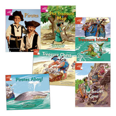Learn at Home:Pirate Cove Reception Pack (6 Fiction Books) by Lisa Thompson