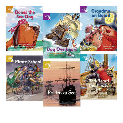 Learn at Home:Pirate Cove Year 2 Pack (6 Fiction Books) by Lisa Thompson