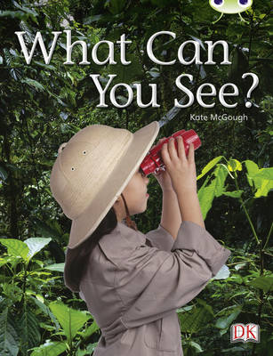Bug Club Non-Fiction Red A (KS1) What Can You See? by Kate McGough