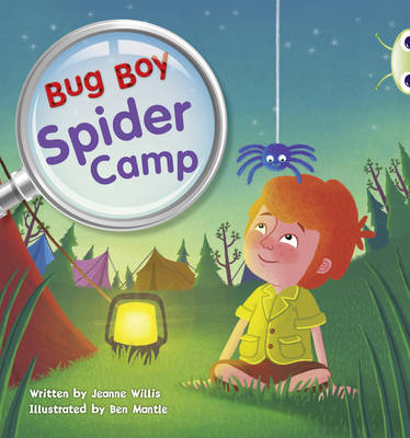 Bug Boy: Spider Camp Yellow C/1c by Jeanne Willis
