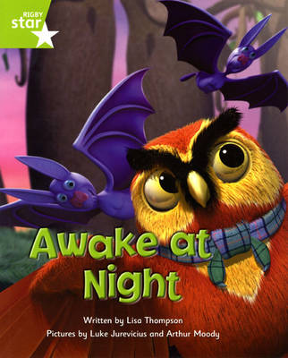 Fantastic Forest Green Level Fiction: Awake at Night by Lisa Thompson