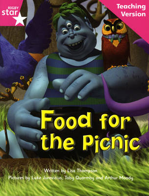 Fantastic Forest Pink Level Fiction Food for the Picnic Teaching Version by Catherine Baker