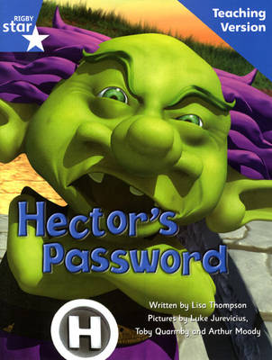 Fantastic Forest Blue Level Fiction Hector's Password Teaching Version by Catherine Baker