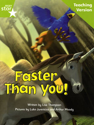 Fantastic Forest Green Level Fiction Faster Than You! Teaching Version by Catherine Baker